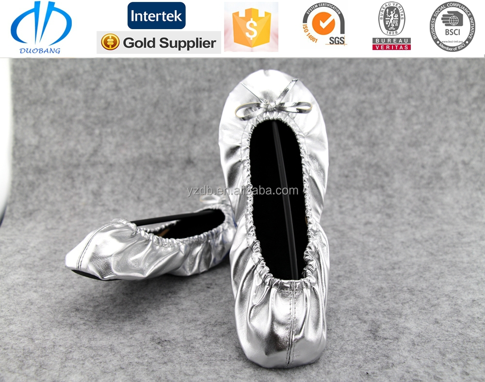 ballerina flat roll up shoes