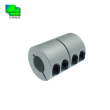 RM series customize aluminium alloy mate rigid joint clamp rotex coupling in shaft coupling