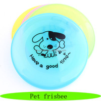Customized dog toys, rubber pets frisbee, wholesale pet supplies
