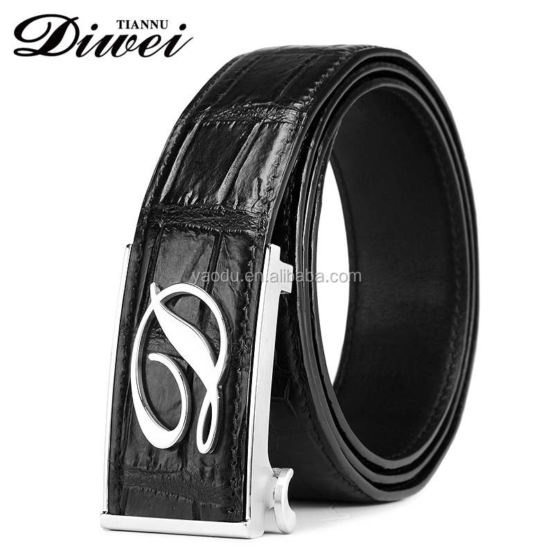 New Italy style designer full grain men's genuine leather brand belts