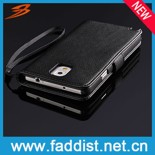 Hot Genuine Leather Case for Samsung Galaxy Note 3 New Arrival