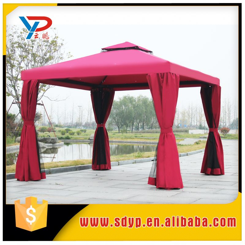 China Supplier 3x4m Manual Assembly Gazebo Tent Side Curtains