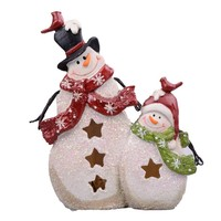 Best home decor cheap colorful 3d snowman Christmas Lights for children gift