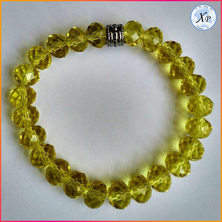 Fashion Colourful Glass crystal Bead bracelet Jewelry