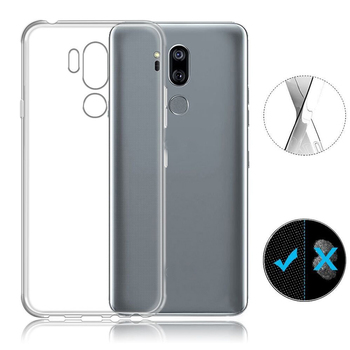 For LG G7 ThinQ Phone case cover Soft Transparent Clear Crystal Case for LG V30s+ Q7 case