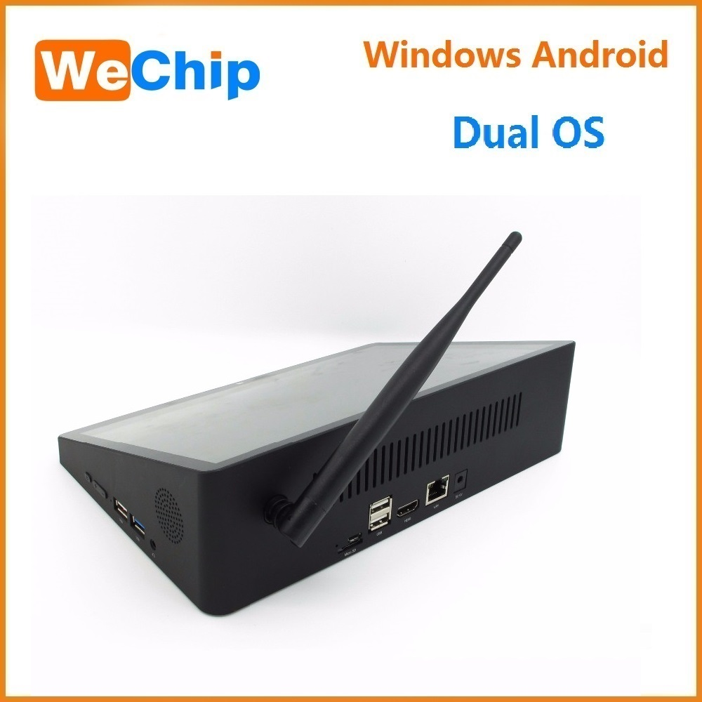 2016 Intel Atom Cherry Trail Z8300 Mini Pc 10.8inch 1920*1280 Win10+ Android5.1 Dual Boot Tablet Pc pipo x10