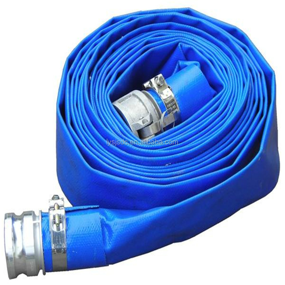 PVC layflat hose for irrigation use 2.5 inches for Ukraine