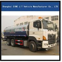 Professional water sprayer 6cbm water tank truck 6000 liter for wholesales