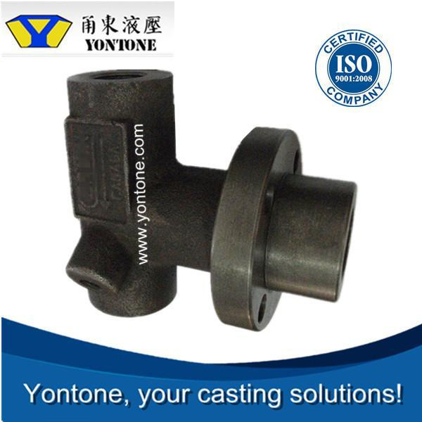 Yontone Foundry Machining Ability T6 C35 C40 C45 steam turbine clapboard stainless steel blade impeller precoated sand casting