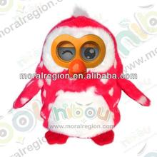 2014 fashion design plush toys with educational function for little boys and girls