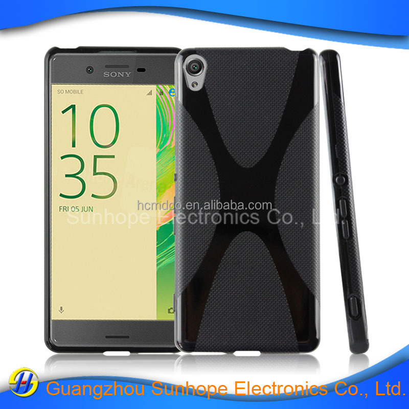 clear tpu soft cell phone case accessories for SONY Xperia Xa F3113 tpu soft cover