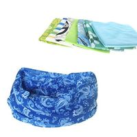 Fitness UV Outdoor Headwear Seamless Connect Bandana Multifunctional Neck Scarf