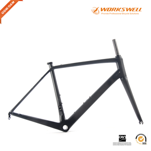 New painting lower price china import carbon frame bb68 road bicycle frame