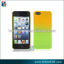 anti shock case for iphone 5 with a gradient design