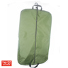 Factory price waterproof blank gusset suit bag army green color carry on garment bag with pocket