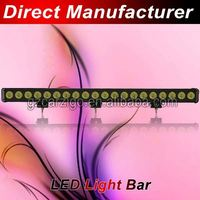 led auto bar car led pick up light bar lexan vehicle 4wd light bar