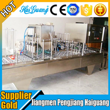 Factory Price Automatic Rotary Type Fruit Juice Yogurt Jelly Water Plastic K Cup Filling Sealing Machine
