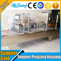 Manufacturer Guangdong Plastic Cup Jelly Filling Sealing Machine