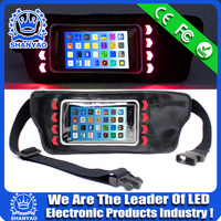 2015 Hot Selling LED Reflective Running Waist Pack