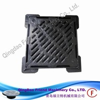 FM-M-EN124 D400 GRATING hinged carriageway Access Covers and Frames for Sewer, Storm, and Sanitary Sewer use