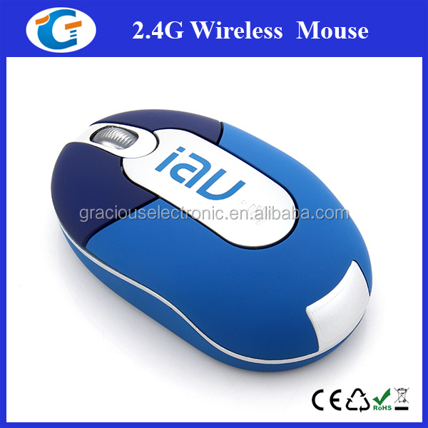 Electronic Novelties Custom Logo 2.4GHz 3D Optical Small Size Wireless Mouse