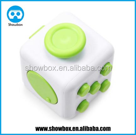 New relax Fidget Cube toy Relieves Stress cube plastic fidget cube