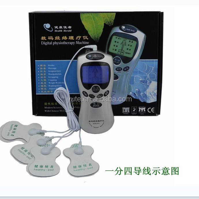 2016 New designing tens portable unit personal tens therapy massager / tens acupuncture massager unit / tens massager unit