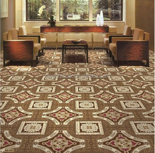 Wilton woven 4m roll floral pattern wall to wall carpet