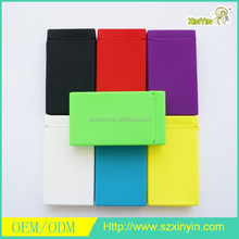 Wholesale Cigarettes Silicone Pack Box Holder Case for hold 20 pcs