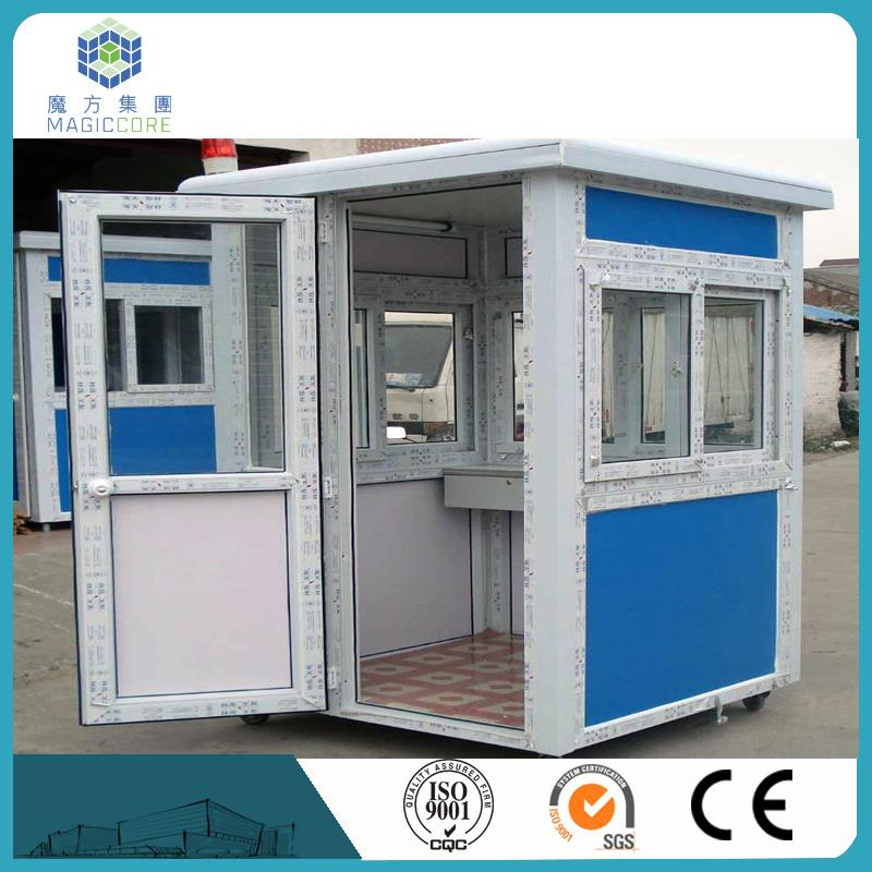 2016 super strong prefab newsstand house china gold supplier sentry box house