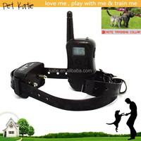 Rechargeable Waterproof Dog Training Electronic Collar with Remote Control