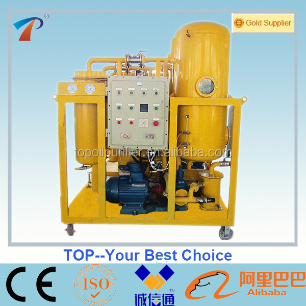 Turbine Oil Purification System for Oil Maintenance with Capacity 3000 Litres Per Hour - Model TY-50, oil filtering machine