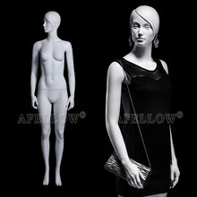 sculptured hair fashion window display woman mannequin on sale