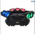 Stage Lights9*10W RGBW 4in1 LED Moving Head Triangle Spider Beam Light Pro Dj Lights