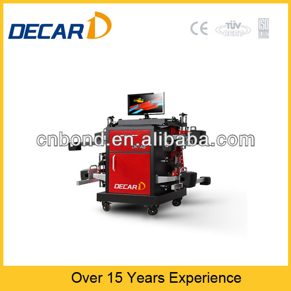 wheel alignment machine price caster for CCD alignment