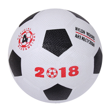 2018 New style customize logo laminated pvc youth training standard size soccer balls football kids scooter mini ball