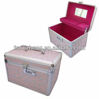 Princess combination lock Pink jewelry box