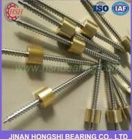 China supplier CNC machine linear bearing SFU 1605 8mm ball screw price China