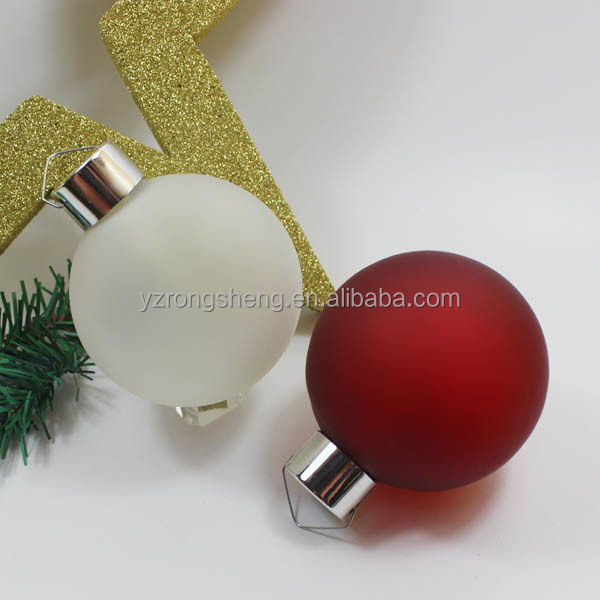 Led/Fiber optic Resin Christmas Balls/Baubles with Music/Movement/Motions/christmas decorations