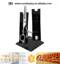 professional hair salon scissors display acrylic scissor display case