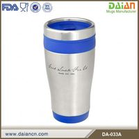 16oz Daian Square Travel Mug With Push Lid