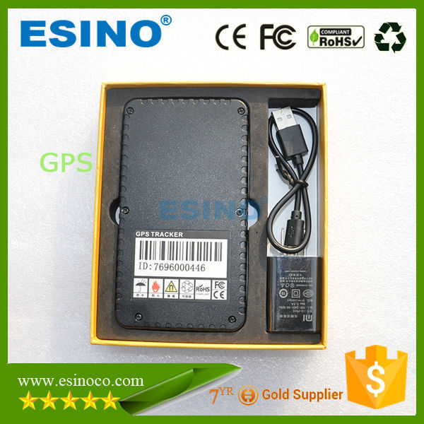 Waterproof long time standby smallest GPS tracker for car tracking