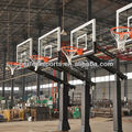 "54"" Basketball System Adjustable Hoop Backboard Court Net PoleBackboard"