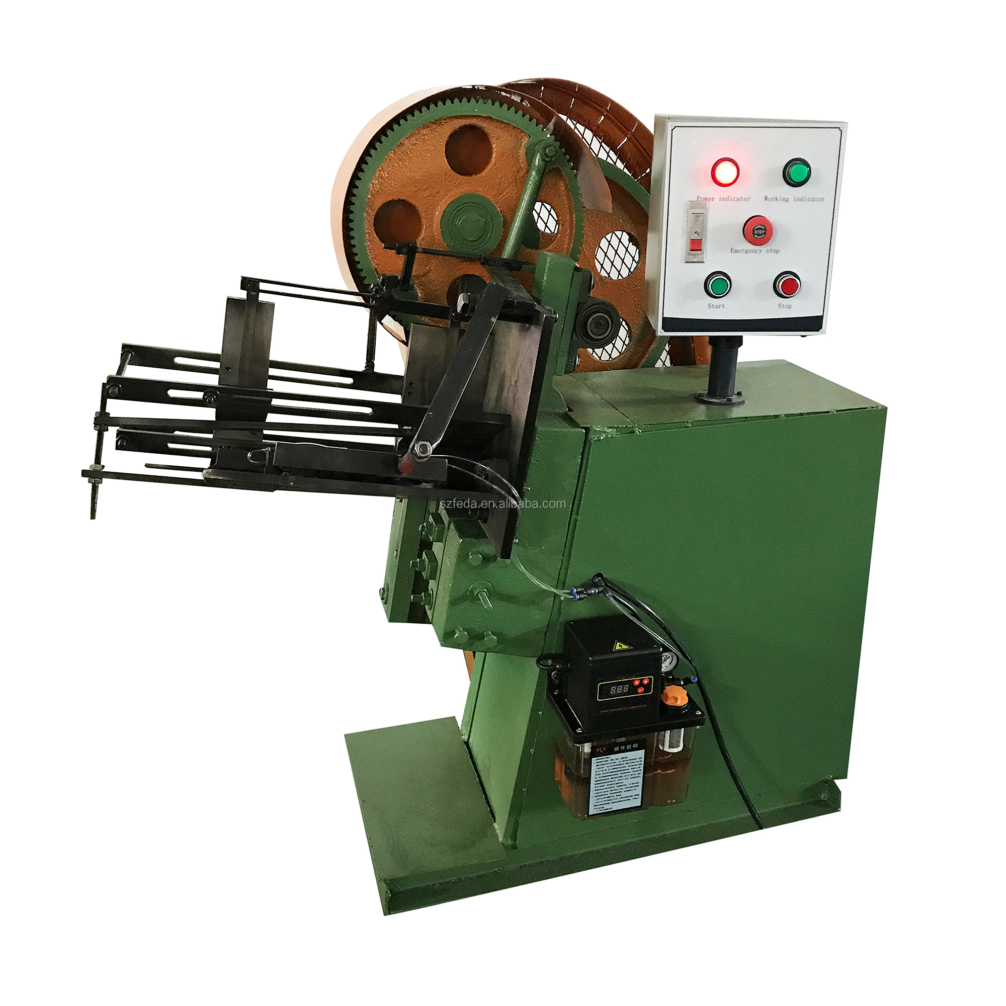 Flat dies screw making machine high speed thread rolling machine vertical type thread making machine