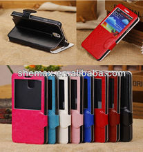 Handbag Case For Galaxy Note 3 N9005 N9002, wallet case for samsung galaxy note 3