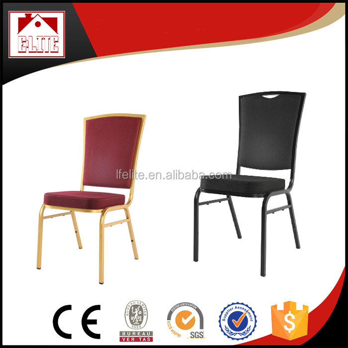 Stackable cheap iron banquet chair discount EB-19