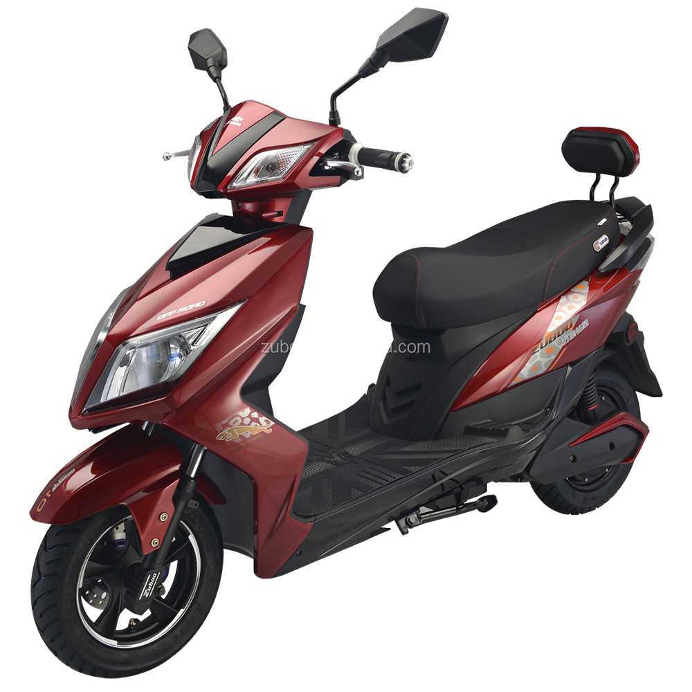 Big power electric motorcycle with 60V20AH/72V20AH 100W battery race scooter electric motorcycle