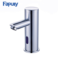 Touchless Water Tap Bathroom Mixer chrome polished cold automatic sensor faucet