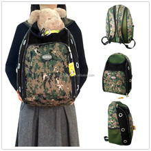 Camouflage Best Soft Airline Approved Waterproof Pet Dog Carrier Backpack