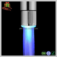 Temperature control kitchen tap, ornate basin faucet, led color changing faucet light